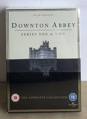 Downtown Abbey DVD Series 1 And 2 Sealed  Brand New And In Original Packaging. • 7.85£