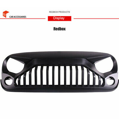 AU160 • Buy 07-18 Jeep Wrangler JK & Unlimited Black Front Gladiator Grille Vander Grill