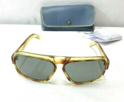 AU38.11 • Buy VINTAGE 1960's POLOROID COOL RAY 139 TRAVELMATE CLEAR 58-18-130 SUNGLASSES #8309