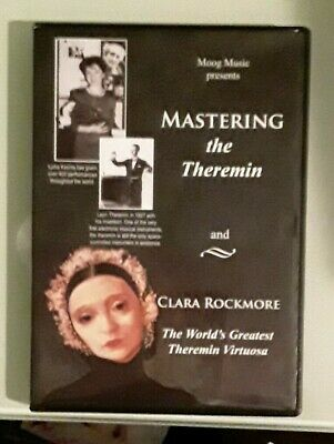 AU30.45 • Buy Moog Music Presents MASTERING THE THEREMIN And CLARA ROCKMORE   DVD