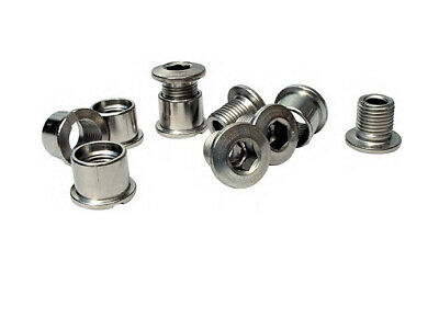 I.D. Chainring Bolts Double 5pc CRIDBDSS • 6£
