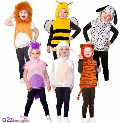 Boys Girls Cute Animal & Insect Tabbards Book Day Fancy Dress Age 3-5 Years • 10.95£