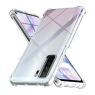 CLEAR Case For Huawei P40 Pro Lite New Edition Shockproof Clear GEL Cover • 2.99£