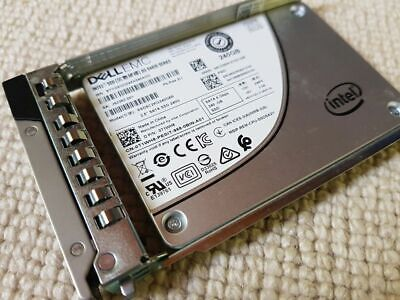 Dell T1WH8 0T1WH8 Intel SSDSC2KG240G8R SATA 240GB SSD 6G/s Caddy • 95£