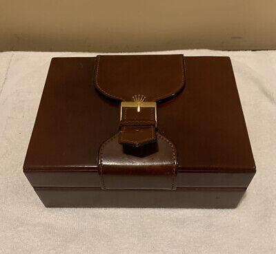 $ CDN130.50 • Buy ROLEX ♛  Genuine Vintage Watch Box Case 71.00.04 Mens President Day-Date