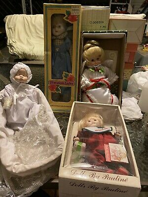 $ CDN36.30 • Buy Porcelain Dolls Collectible Lot Of 4 What You See What You Get