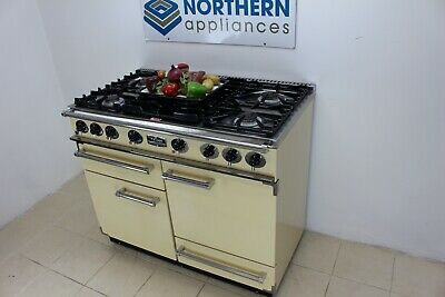 £1550 • Buy Falcon Range Cooker Dual Fuel Steam Cleaned In Good Order 12 Months Warranty 103