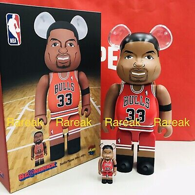 $268.99 • Buy Medicom Be@rbrick 2020 NBA Basketball Bulls Scottie Pippen 400% + 100% Bearbrick