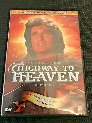 Highway To Heaven - Season Two Complete - 6 DVDs Region 2 - 24 Episodes • 9.45£