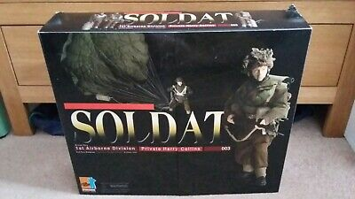 Dragon 1/6 WW2 British Paratrooper  Harry Collins  Soldat Special With Parachute • 185£