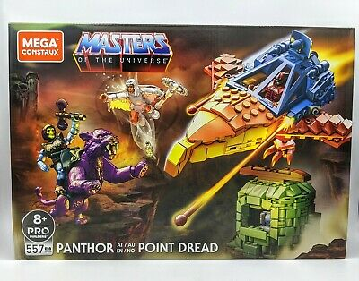 $94.99 • Buy Masters Of The Universe Mega Construx Set Panthor At Point Dread *IN HAND*