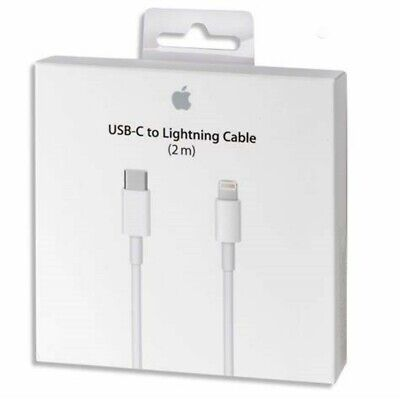 AU11.99 • Buy Original 1M 2M USB-C To Lightning Data Cable For IPhone 11 X XR XS 11 Pro Max