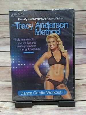 Tracy Anderson Method Dance Cardio Workout 2 DVD Exercise Fitness UK New Sealed • 7.90£
