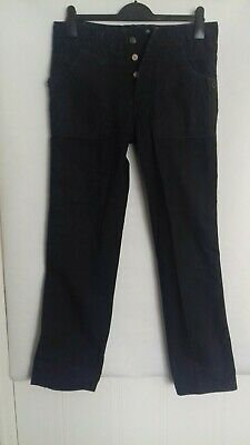£40 • Buy Diesel Blue Panthers Fightets Squadron Trendy Cargo Black Trousers Size 30