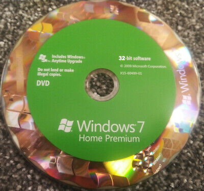 Windows 7 Home Premium Upgrade – 32 & 64 Bit, With Product Key • 70.95£