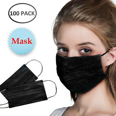 AU33.56 • Buy 100PCS Face Mask High Protective 3 Layer Mouth Masks Disposable Mask Surgical