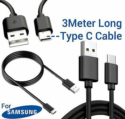 $ CDN5.03 • Buy Samsung Galaxy S8 S9 S8+ S9+ USB-C TYPE C 3M Long Charging Charger Lead Cable