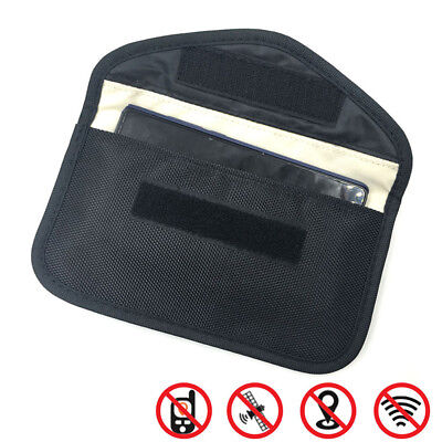 Large Size Cellphone RF GPS Signal Blocker Anti-Radiation Shield Pouch Case  Dr • 2.80£