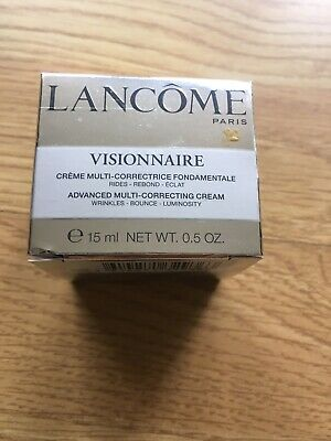 100% Genuine Lancome Visionnaire Advanced Multi-Correcting Cream 15ML • 17.99£