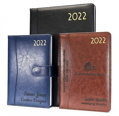 £13.99 • Buy Personalised Premium Executive Diary Organiser 2022 A4/A5   Design A Unique Gift