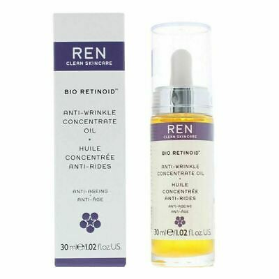 NEW REN Clean Skincare Face Bio Retinoid Anti-Wrinkle Concentrate Oil  • 20.85£