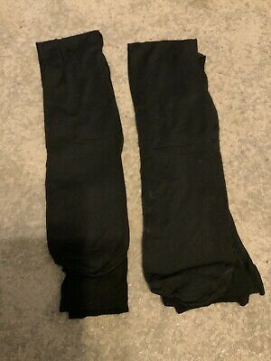 £2 • Buy NEW, Girls Black Sheer Tights X2, Age 5-6yrs, Will Combine Postage