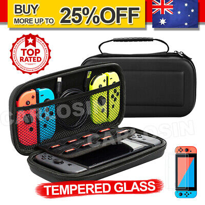 AU13.95 • Buy For Nintendo Switch Travel Carrying Case Bag,Screen Protector,Cover Accessories