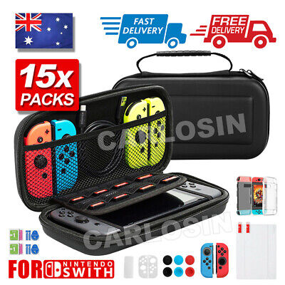AU19.90 • Buy For Nintendo Switch Travel Carrying Case Bag,Screen Protector,Cover Accessories