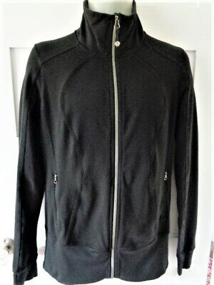 $ CDN48 • Buy Lululemon Forme Jacket Coat Black Women's Size 8