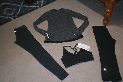 $ CDN90.25 • Buy Lot Of Lululemon Wunder Under Tights, Sweater, Crops And BNWT Up For It Bra Sz 6