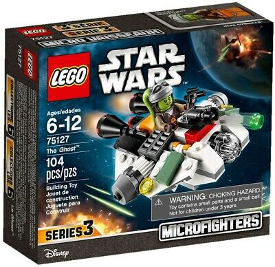AU45 • Buy Lego Star Wars - 75127 Microfighters Series 3 The Ghost - New / Sealed / Retired