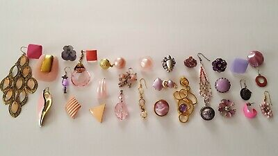 $ CDN32.94 • Buy Vintage Now Unsearched Untested Junk Drawer Jewelry Single Earring Lot