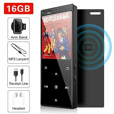 Mibao 16GB MP3 Player With Bluetooth 4.2, Music Player Digital Audio Portable  • 21.99£