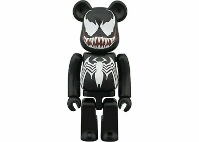 $195 • Buy Venom Bearbrick 100% Marvel The Amazing Spiderman Medicom Be@rbrick Kubrick 2014