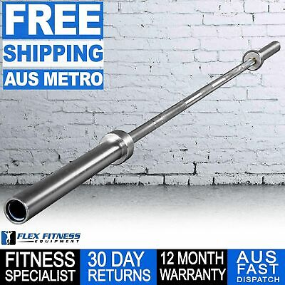 AU295 • Buy Armortech 7ft Mens Weight Lifting Barbell Power Bar Gym Weightlifting Workout