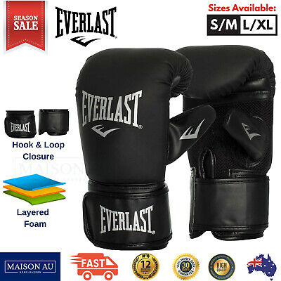 AU59.95 • Buy Everlast Tempo Bag Boxing Gloves MMA Training Punch Punching Mitts Wrist Wraps