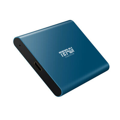 1TB 2.5  External SSD Hard Drive USB 3.1 Gen2 Portable Solid State Drive For Mac • 109.99£