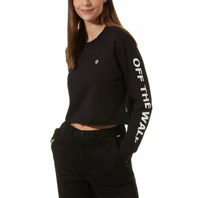 Long Sleeve T-Shirt Castmore Ls Crop Vans Black Women • 28.12£