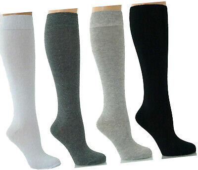 New Knee High School Socks Girls Long Socks Girls Knee Length Socks All Size • 7.90£