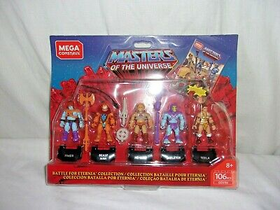 $15.99 • Buy Masters Of The Universe - Battle For Eternia Mini-Figure 5-Pack