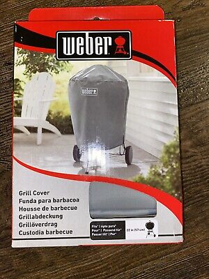 $ CDN25.57 • Buy Weber Charcoal Kettle Grill Cover Storage Outdoor All Weather Fabric 22  - Gray