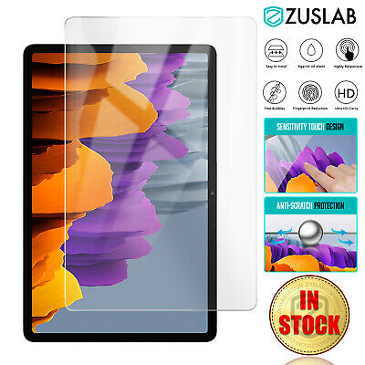 $ CDN9.55 • Buy For Samsung Galaxy Tab S7 11  S7+ Plus 12.4  S6 Tempered Glass Screen Protector