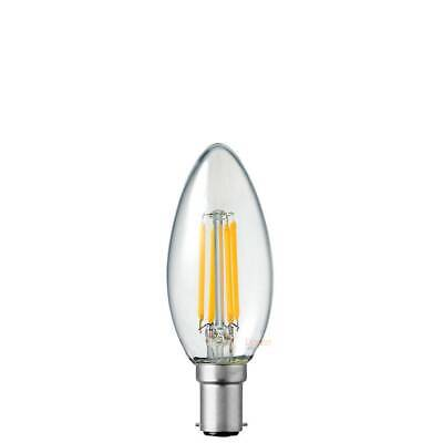 AU9 • Buy B15 Small Bayonet Cap Candle Dimmable Filament LED Bulb 2700K Warm White 6Watt