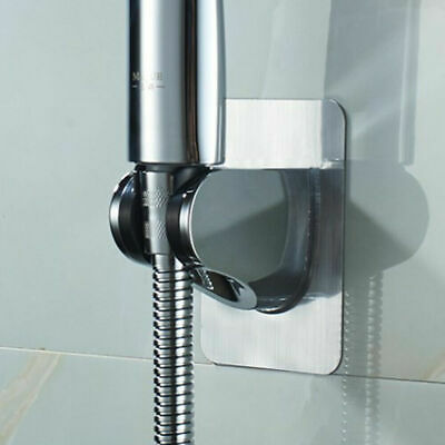 UK Adjustable Bathroom Wall Mounted Shower Head Handset Holder Bracket Suction • 4.79£