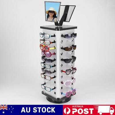 AU63.50 • Buy Metal 44 Pair Sunglasses Glasses Show Rack Counter Display Stand Holder W/Mirror