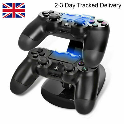 AU14.34 • Buy PlayStation 4 PS4 Controller LED Charging Stand Station Dual USB Fast Charger UK