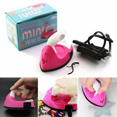 View Details 220/110V Mini Electric Iron Small Portable Travel Machine Clothes Craft DIY UK • 8.48£