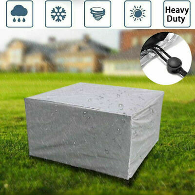 Waterproof Outdoor Cover Garden Furniture Patio Rattan Table Chair Cube Set Park • 24.59£