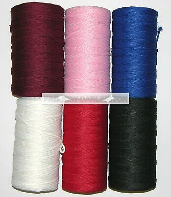 3mm BRAIDED POLYESTER ANORAK PIPING CUSHION CORD ( CHOICE OF LENGTH & COLOUR )  • 3.99£