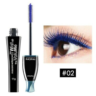 Colour Lenghtening Mascara Long Lasting And Quick Dry  Blue Colour.. • 5.50£